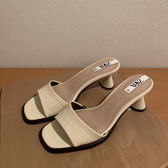 ZARA(ザラ)のZARA ヒールサンダル レディースの靴/シューズ(サンダル)の商品写真