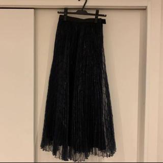 STUNNING LURE - スタニングルアー完売チュールプリーツスカートプリント柄