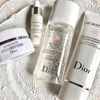 Dior - 【お試し4点✦13,137円分】ディオールスノー 化粧水 美容液 クリーム 洗顔