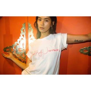 シー(SEA)のCHERRY JERRERA WDS (CALLIGRAPHY) T-SHIRT(Tシャツ/カットソー(半袖/袖なし))