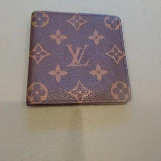 LOUIS VUITTON - ルイヴィトン  モノグラム  二つ折り財布