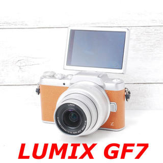 Panasonic - ❤️カメラカバー付き❤️Wi-Fi搭載❤️LUMIX GF7