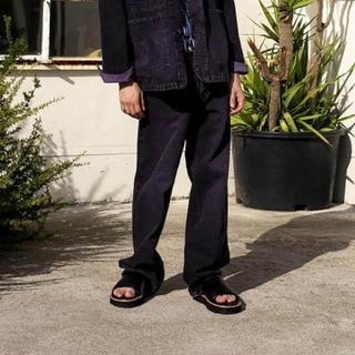 JOHN LAWRENCE SULLIVAN - DAIRIKU 20ss デニム dnim ナイトパープル 31インチ