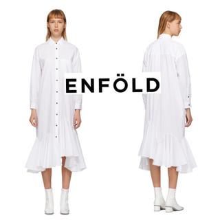 ENFOLD - 新作☆即完売 ENFOLD SOMELOS フレアーヘムドレス ワンピース