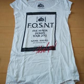 マウジー(moussy)の安室奈美恵 20th moussy 2012ドームツアー ライブ Tシャツ(ミュージシャン)