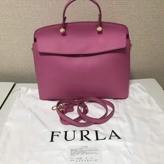フルラ(Furla)の新品未使用 フルラ  FURLA ハイパー ピンク ショルダー トート バッグ(ショルダーバッグ)