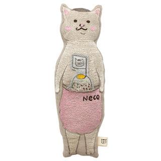 アッシュペーフランス(H.P.FRANCE)の猫村さんコラボ コーラルアンドタスク ポケットドール(クッション)