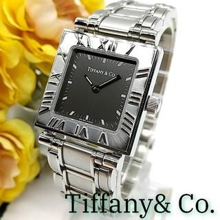 Tiffany & Co. - 極美品 1ヶ月保証 ティファニー アトラス スクエア レディース 腕時計