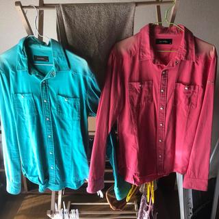 ダブル(DOWBL)のDOWBLカツラギシャツ(シャツ)