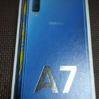 Galaxy - galaxy A7 楽天モバイル端末購入証明書付き