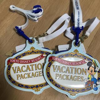 ディズニー(Disney)のディズニー パスケース2つ バケーションパッケージ(パスケース/IDカードホルダー)