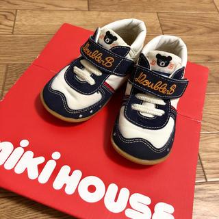 DOUBLE.B - 新品同様 早い者勝ち!!ミキハウス ダブルビー インディゴ スニーカー 運動靴