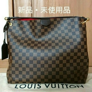 LOUIS VUITTON - 【新品・未使用品】ルイヴィトン グレースフルMM ダミエ 国内直営店購入