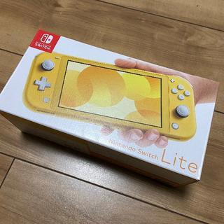 Nintendo Switch - 【24時間以内発送】【新品】 Nintendo Switch Lite イエロー
