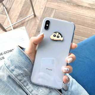 クリア iPhone 可愛い?クレヨン しんちゃん シロ 犬(iPhoneケース)