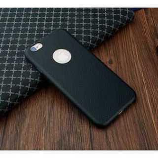 【送料無料】 iPhone6/6s用 レザー 本革風 (ブラック 黒)(iPhoneケース)
