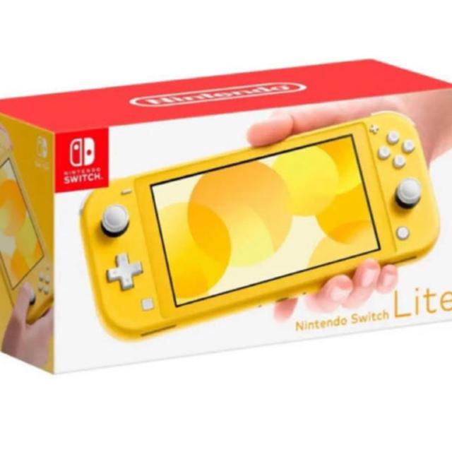 Nintendo Switch(ニンテンドースイッチ)の新品現品 スイッチ Nintendo Switch Lite ライト イエロー エンタメ/ホビーのゲームソフト/ゲーム機本体(携帯用ゲーム機本体)の商品写真