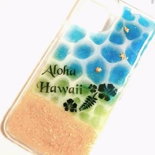 iPhone11Pro スマホケース Aloha(*˘︶˘*).。.:*♡(iPhoneケース)