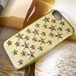 enchanted.LA☆Brillant Stars☆ゴールド☆本革製ケース(iPhoneケース)