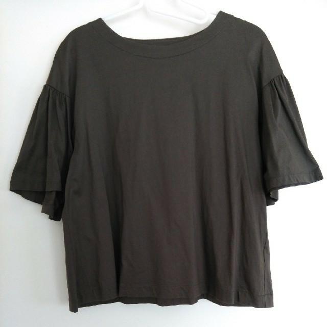 UNIQLO(ユニクロ)のマーセライズコットンT レディースのトップス(Tシャツ(半袖/袖なし))の商品写真