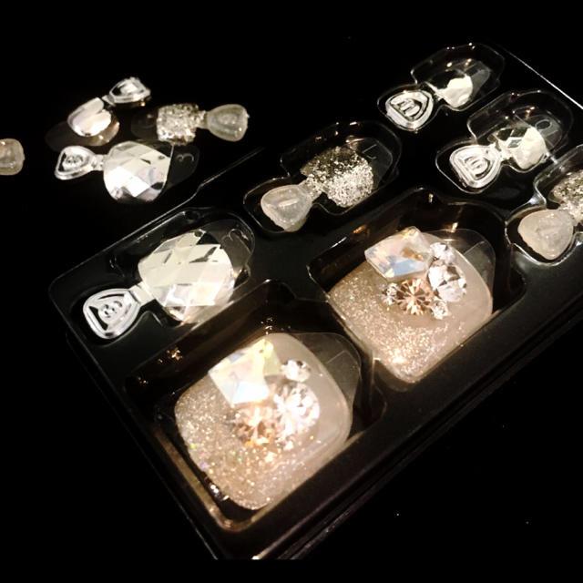 ダッシングディバ マジックプレス  フット 足用 ジェルネイル  コスメ/美容のネイル(つけ爪/ネイルチップ)の商品写真