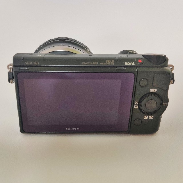 SONY(ソニー)の【鯖の味噌煮缶さま専用】SONY ミラーレス一眼カメラ NEX-5RL スマホ/家電/カメラのカメラ(ミラーレス一眼)の商品写真