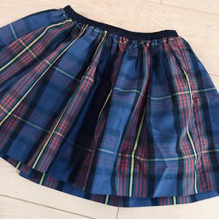 Ralph Lauren - ラルフローレンチェック柄スカート7歳130