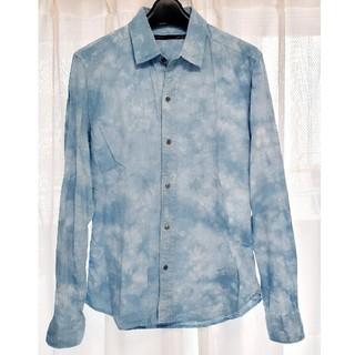 テットオム(TETE HOMME)のテットオム 長袖シャツ ライトブルー(シャツ)