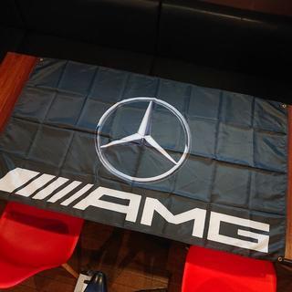 AMG メルセデスベンツ フラッグ 90×150cm  即日発送無料 特大