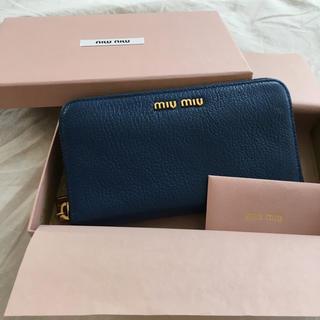 miumiu - ミュウミュウ マドラス 財布 miumiu
