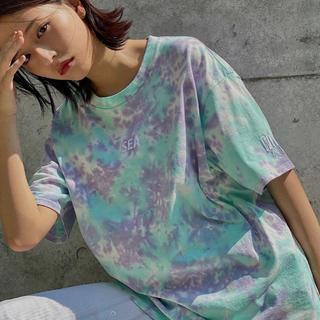 シュプリーム(Supreme)の【L】wind and sea タイダイ Tシャツ(Tシャツ/カットソー(半袖/袖なし))