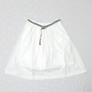 ルカ(LUCA)の【最終処分】ふんわりメッシュスカート(ひざ丈スカート)