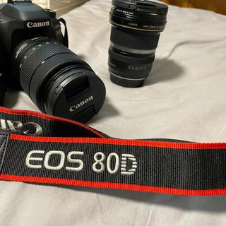 Canon - canon eos80d+レンズ2本