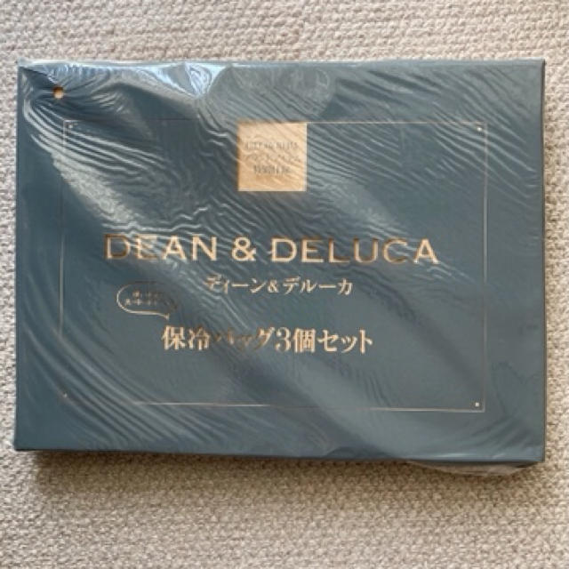 DEAN & DELUCA(ディーンアンドデルーカ)のDEAN &DELUCA 保冷バッグ 3個セット 白ホワイト レディースのバッグ(その他)の商品写真