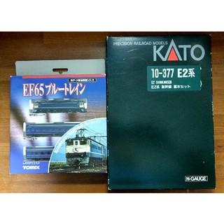 KATO` - kato10-377 新幹線(あさま) と tomix92080ブルートレイン