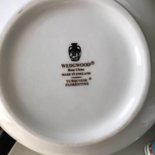 WEDGWOOD(ウェッジウッド)のウェッジウッド フロレンティーン ターコイズ  ポット  セット インテリア/住まい/日用品のキッチン/食器(食器)の商品写真