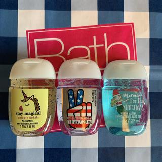 バスアンドボディーワークス(Bath & Body Works)の【新品】バスアンドボディワークス 3点セット(ボディソープ/石鹸)