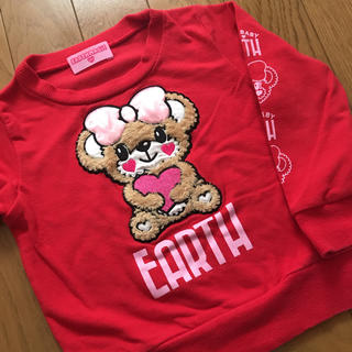 EARTHMAGIC - 72.EARTHMAGIC♡トレーナー