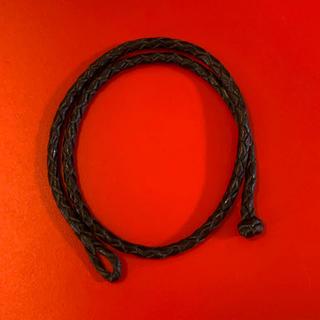 ホワイトハウスコックス(WHITEHOUSE COX)の希少★ホワイトハウスコックス 編み込みブレス ブラック(ブレスレット)