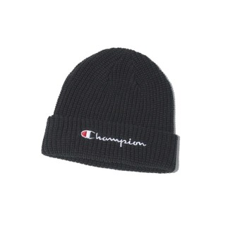 チャンピオン(Champion)の新品タグ付き チャンピオン ニット帽 ブラック 黒 ユニセックス(ニット帽/ビーニー)