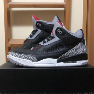 NIKE - AIR JORDAN 3 retro OG black cement