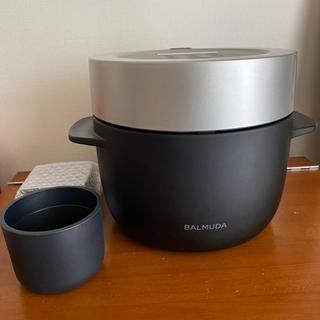 BALMUDA - BALMUDA The Gohan K03A バルミューダ 炊飯器 長期保証有り