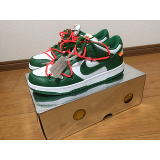 NIKE - Nike Dunk Low off-White 28cm