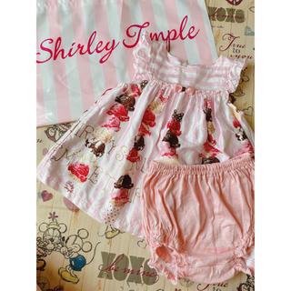 Shirley Temple - アイスタワー ベビースーツ90