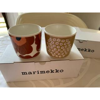 マリメッコ(marimekko)のラスト1セット!☆マリメッコ☆ラテマグ プケッティ&ウニッコ♪新作セット(食器)