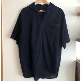コモリ(COMOLI)のCOMOLI ベタシャン スキッパー 半袖シャツ(Tシャツ/カットソー(半袖/袖なし))