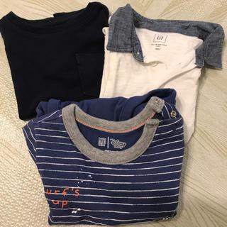 ベビーギャップ(babyGAP)のGAP 夏服 まとめ売り 男の子 80cm 3点セット(Tシャツ)