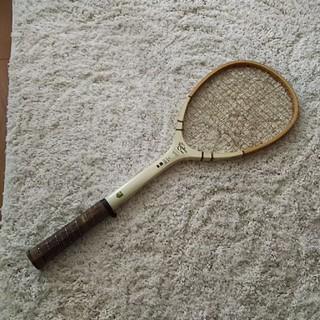 レア☆昭和レトロ KAWASAKI 軟式テニスラケット