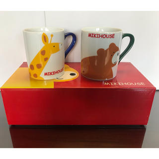 ミキハウス(mikihouse)の【新品未使用】ミキハウス マグカップセット(グラス/カップ)
