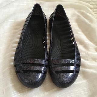 crocs - クロックス〔crocs〕フラット シューズ